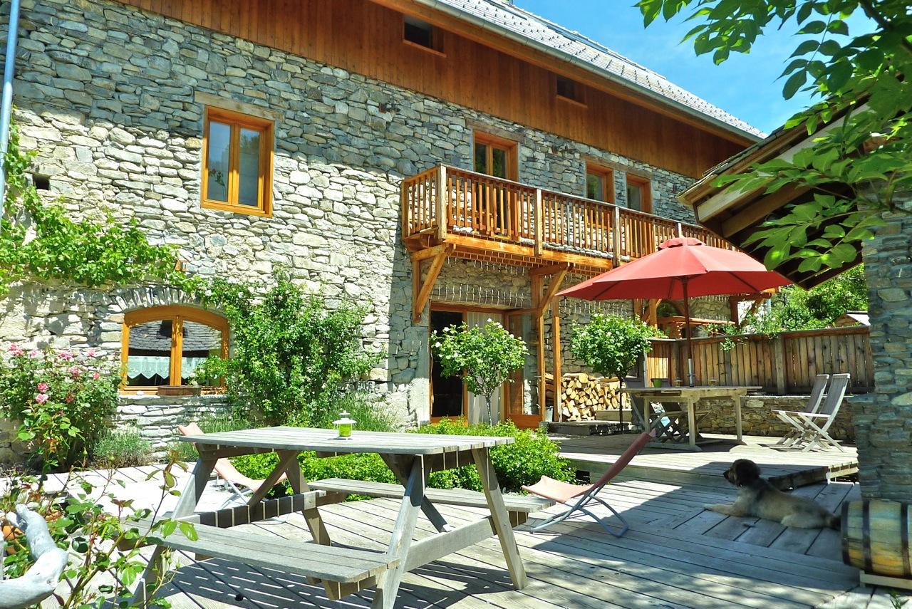 Le moulin ollivier maison d 39 h tes hautes alpes for Chambre hote embrun